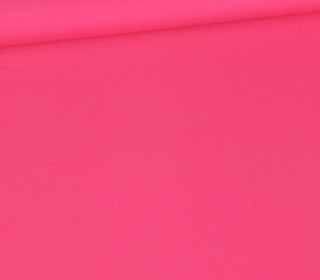 Baumwolle - Webware - Poplin - Softtouch - Uni - Pink