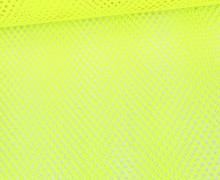 Fester Netzstoff - Uni - Durchsichtig - Neongelb