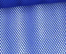 Fester Netzstoff - Uni - Durchsichtig - Blau