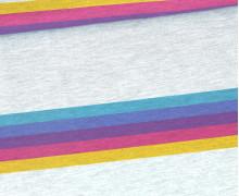 Jersey - Kombistoff - Lass Mal Chillen - Giraffe - Pink - Grau Meliert - abby and me
