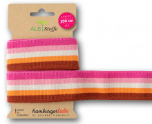 Streifenband - Stripe Me - College - 5 Stripes - Bloom - Multi - Hamburger Liebe - Pink