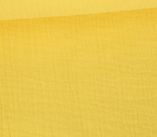 Musselin Lotta - Muslin - Uni - Double Gauze - Schnuffeltuch - Windeltuch - Hellgelb