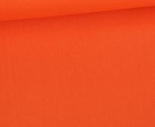 Baumwolle - Webware - Uni - 150cm - Orange