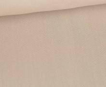 Baumwolle - Webware - Uni - 150cm - Sand
