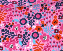 Jersey - Floral Summer Feelings - Babyrosa