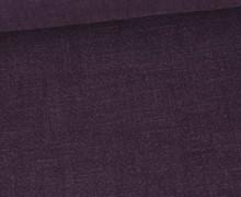Ramie - Naturfaser - Stonewashed - Uni - Purpurviolett