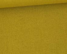 Weicher Viskose Leinen - Leinenstoff - 175g - Uni - Olivgelb