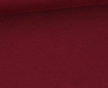 Fester Jersey - Romanit Jersey - Uni - Dunkelrot