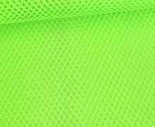 Fester Netzstoff - Uni - Durchsichtig - Neongrün
