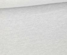 Jersey Smutje - Hell Meliert  - 150cm - Lichtgrau