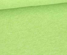 Jersey Smutje - Hell Meliert  - 150cm - Hellgrün
