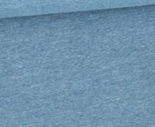 Jersey Smutje - Hell Meliert  - 150cm - Pastellpetrol