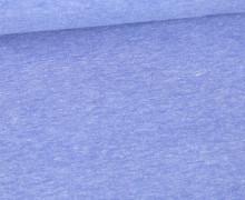 Jersey Smutje - Hell Meliert  - 150cm - Blau