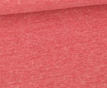 Jersey Smutje - Hell Meliert  - 150cm - Rot