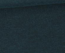 Jersey - Dunkel Meliert  - 150cm - Petrol