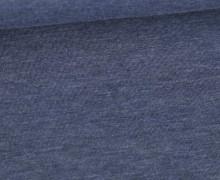 Jersey - Dunkel Meliert  - 150cm - Jeansblau