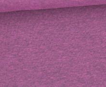 Jersey - Dunkel Meliert  - 150cm - Dunkelrosa