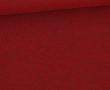 Jersey - Dunkel Meliert  - 150cm - Dunkelrot