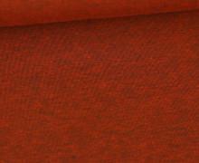 Jersey - Dunkel Meliert  - 150cm - Rostorange