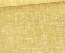 Leinen - Uni - Meliert - 160g - Maisgelb