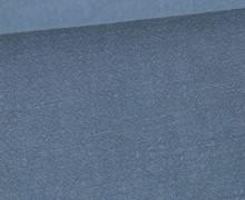 Ramie - Naturfaser - Stonewashed - Uni - Taubenblau