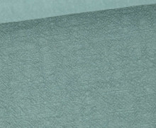 Ramie - Naturfaser - Stonewashed - Uni - Lichtgrün