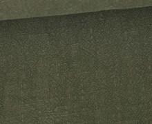Ramie - Naturfaser - Stonewashed - Uni - Olivgrün