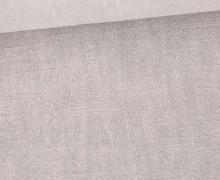 Ramie - Naturfaser - Stonewashed - Uni - Lichtgrau
