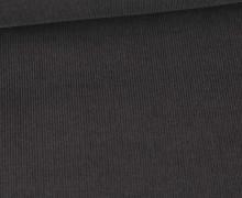 Babycord - Feincord - Washed-Look - Uni - 160g - Dunkelgrau