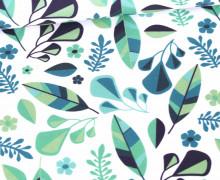 Sommersweat - Blumenwerk - Blumen -  Bio Qualität - Weiß - Petra Laitner - abby and me