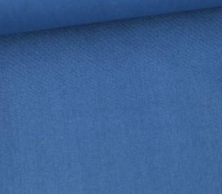 Baumwolle - Webware - Uni - 150cm - Jeansblau