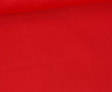 Baumwolle - Popelin - Webware - Uni - 145cm - Rot