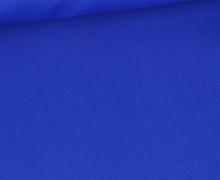 Baumwolle - Popelin - Webware - Uni - 145cm - Royalblau
