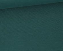 Jersey Smutje - Uni  - 150cm - Wasserblau