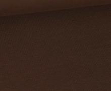 Jersey Smutje - Uni  - 150cm - Dunkelbraun