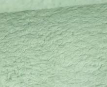 Teddystoff - Baumwolle - Uni - Pastellgrün