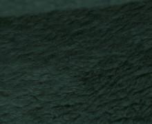 Teddystoff - Baumwolle - Uni - Tannengrün