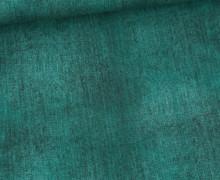 Jersey - Jeansoptik - Dunkelgrün