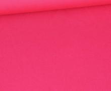 Baumwolle - Popelin - Webware - Uni - 140cm - Pink