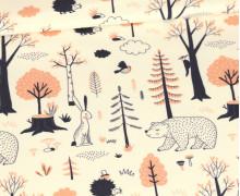 Sommersweat - Herbstgefährten - Ecru - Bio Qualität - abby and me