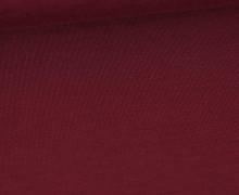 Bambus-Jersey – Uni  – Bordeaux
