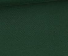 Bambus-Jersey - Uni  - Dunkelgrün