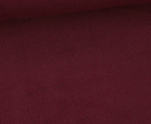 Babycord - Feincord - Washed-Look - Uni - 160g - Bordeaux