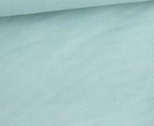 Babycord - Feincord - Washed-Look - Uni - 160g - Pastelltürkis