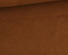 Babycord - Feincord - Washed-Look - Uni - 160g - Rehbraun