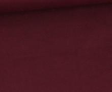 Baumwolle - Popelin - Webware - Uni - 145cm - Bordeaux