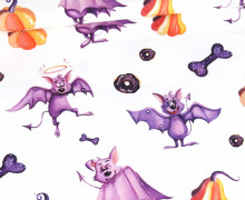 Jersey - Halloween - Bouncy Bats - Bio-Qualität - abby and me