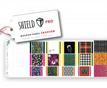 Antimikrobieller Jersey - SHIELD Panel Fashion (Eckig) - Behelf-Mund-Nasen-Schutz - 12 Masken Designs - Hamburger Liebe