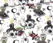 Jersey - Halloween - Dark Magic - Spells n' Spiders - Bio-Qualität - abby and me