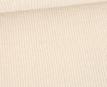 Cord - Breitcord - Washed-Look - Uni - 325g - Warmweiß